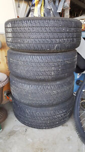 Selling 4 piece of 16in.tires in good condition.Firestone brand.