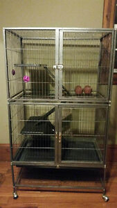Multi-Level Critter Nation cage