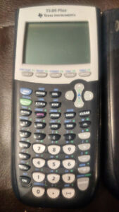 T1-84  PLUS GRAPHING CALCULATOR