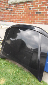 Black hood for 2008 Ford escape