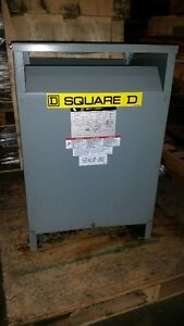 Square D 45kva Transformer 480 volt to 208Y/ 120 Stratford Kitchener Area image 2
