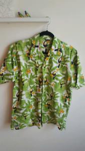New men's Hawaiian shirt