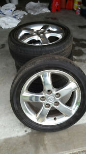 Sport rims and tires