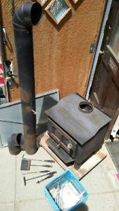 wood burning stove $550.00