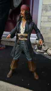 Captain Jack Sparrow talking figure approximately 18 inches tall London Ontario image 2