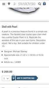 Swarovski Shell with Pearl Strathcona County Edmonton Area image 3