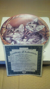 Bradex Franklin Mint cat print plates with certificates Oakville / Halton Region Toronto (GTA) image 3