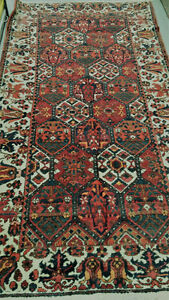 TAPIS PERSAN BAKHTYAR , PERSIAN AREA RUG , HAND MADE CARPET