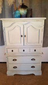 Gorgeous Painted Armoire