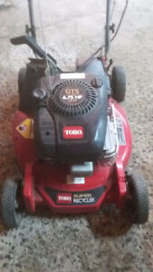 toro self propelled electric start