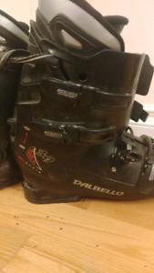 Black Dalbello Ski Boots