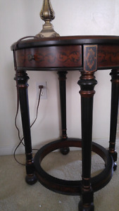 2 Bombay Company bedside/accent table