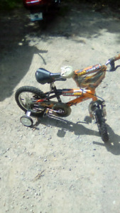 Boys bicycle, 12 inch rims