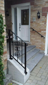 Refurbish old and worn steel railings