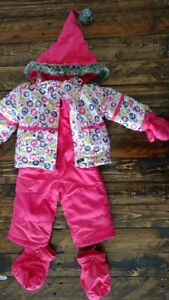 Little girl snowsuit-new condition