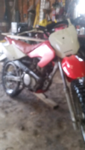 2003 honda xr100 for sale or trade (lots of parts)