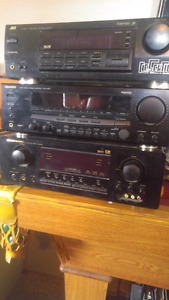 Kenwood, JVC and Maraniz is Stereo amps.