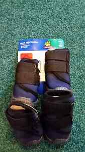 Top Paw Hard Sole Booties - Dog - sets of 4 Small & Medium - NEW