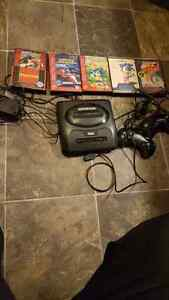 For sale sega genesis collection system 2 controllers an games