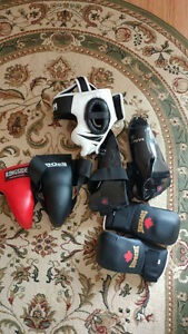 Sparring gear/ equipment