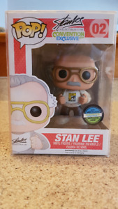 Limited Edition Stan Lee Funko Pop from 2014 SDCC ***RARE***