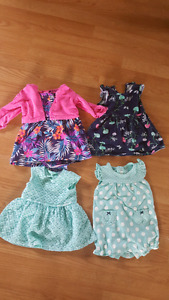 Carter's dresses and romper