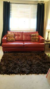 Red 2 Seater Sofa Bed