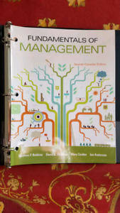 Fundamentals of management 7th canadian edition Stephen Robins