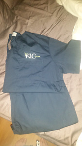 KLC Dental Scrubs and Shoes