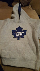 Great Toronto Maple Leafs hoodie for 2 year old