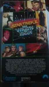 Star Trek ll : The Wrath of Khan Vhs tape from 1982