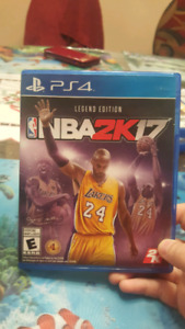 NBA 2k17 PS4 Only