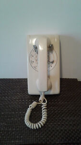 VINTAGE: 1970's Northern Telecom Rotary Dial Wall Telephone Windsor Region Ontario image 1