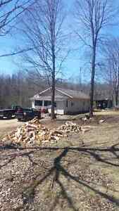2 bedroom Bungalow and shop on 17 acres