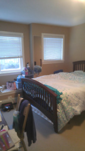 Clean, bright great fully furnished queen size bedroom for rent