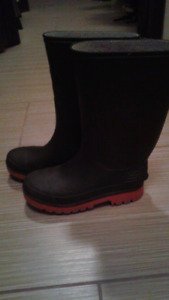 Rubber boots for kids size 2