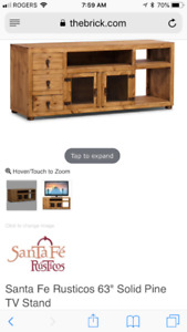 Entertainment Unit - Sante Fe Rustico Collection