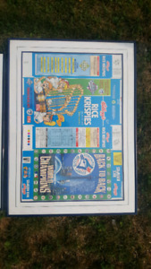 Toronto Blue Jays World Series collector cereal boxes