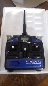 Télécommande HP6DSM 6 voies 2.4Ghz DSM2