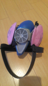 Respirator mask in clean condition
