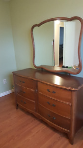 Dresser w/ mirror and Tallboy