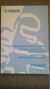 2002 Yamaha PW50 Owner's Service Manual