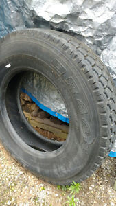 Drive tires