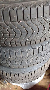 """For Sale: 4 16"""" rims with tires"""