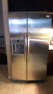 Stainless Side By Side Fridge