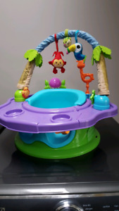 Summer Infant seat with activities and feeding tray