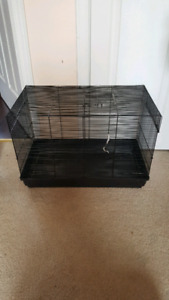2 small animal cages