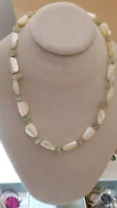 Mother of Pearl Vintage Necklace