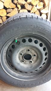 Winter Honda tires and Rims