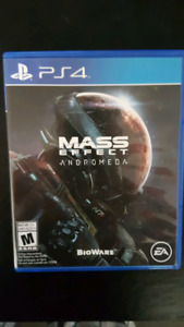For sale ps4 Mass Effect Andromeda